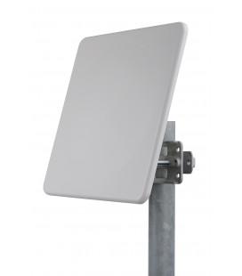 Antena Panel Direccional Triple Polarizacion de 19dBi 5.125-6.1 GHz 3 Conectores N Hembra