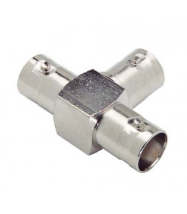Coaxial T Adapter, BNC Female / Female / Female