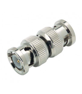 Coaxial Adapter, BNC Male / Male
