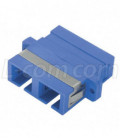 Duplex Fiber Coupler, SC / SC (Plastic Body), Bronze Alignment Sleeve