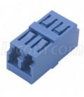 Fiber Coupler, LC / LC Duplex Ceramic Sleeve, No Flange.