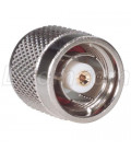 Coaxial Barrel Adapter, RP-TNC Plug / Plug