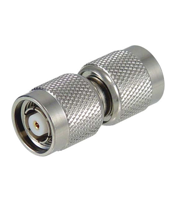 Coaxial Barrel Adapter, RP-TNC Plug / Plug