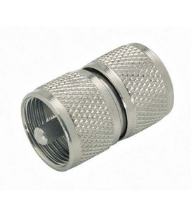Coaxial Adapter, UHF Male / Male (PL259)