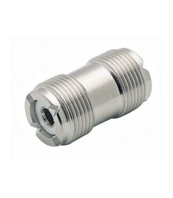Coaxial Adapter, UHF Female / Female