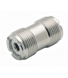 Coaxial Adapter, UHF Female / Female