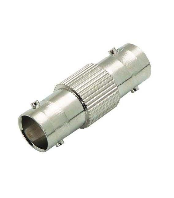 75 Ohm Coaxial Adapter, BNC Female / Female (Splice)