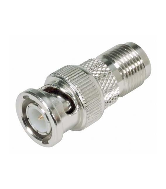 Coaxial Adapter, BNC Male / TNC Female