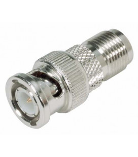 Coaxial Adapter, BNC Male / TNC Female