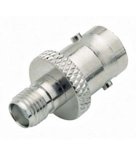 Coaxial Adapter, BNC Female / SMA Female