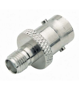 Coaxial Adapter, BNC Female / SMA Female