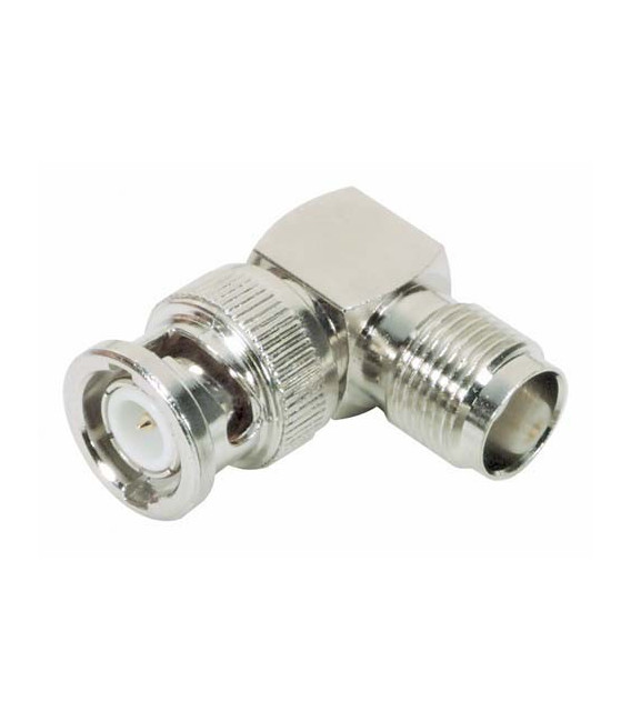 Coaxial Adapter, BNC Male / TNC Female Right Angle