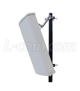 2.4 GHz 12 dBi 120° Spatial Diversity/Cross Polarized MIMO Sector Antenna
