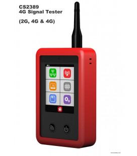 Analizador de señal de radio GSM/4G/3G/2G Dycon