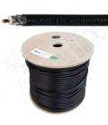 Cable coaxial 50 ohms baja perdida Altelix AX400UF™ Ultra Flex, bobina 152 metros