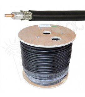 Cable coaxial 50 ohms baja perdida Altelix AX400FR™ Riser Rated Fire Retardant, por metros