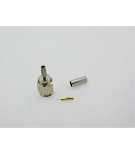Conector RPSMA Hembra crimpar, LMR100