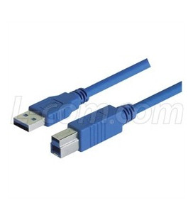 USB 3.0 Cable Type A - B, 0.3m