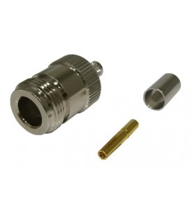 Connector N Female, Crimpar, LMR240, ANT.