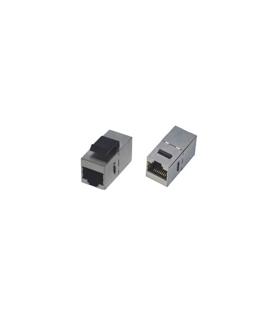 Adaptador RJ45 H-H Cat.5e FTP keystone