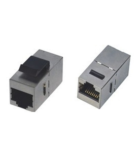 Adaptador RJ45 H-H Cat.6 FTP keystone