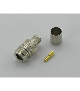 Conector N hembra, Crimpar CA-400 - ANT - 0-3GHz