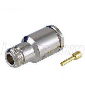 Conector N-hembra p/armar, LMR600