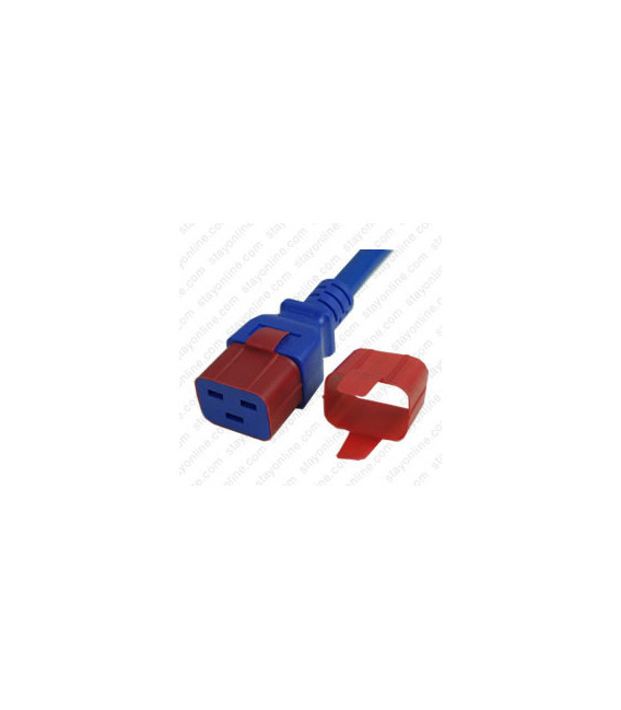C19 Secure Sleeve Tab Contact Retention Insert - Red with Extraction Tab