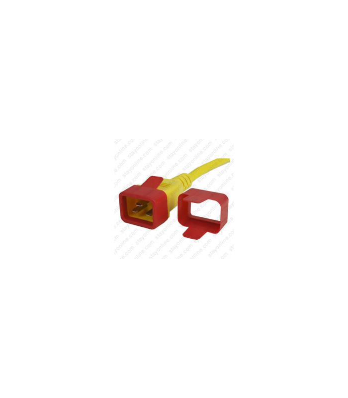 C20 Secure Sleeve Tab Contact Retention Insert - Red with Extraction Tab