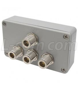 Divisor / Combinador de 3-Vias, N hembra, 2.4Ghz