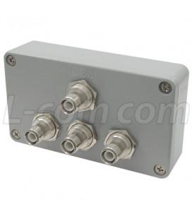 Divisor / Combinador de 3-Vias, RPTNC h, 2.4Ghz
