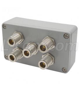 Divisor/Combinador 4-Vias, N hembra, 5.8 Ghz