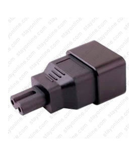 C20 Plug to C7 Connector Block Adapter - Black