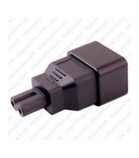C20 Plug to C7 Connector Block Adapter - Black