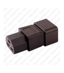 C20 Plug to C21 Connector Block Adapter - Black