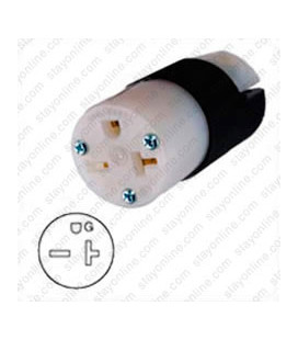Hubbell HBL5469C NEMA 6-20 Female Connector