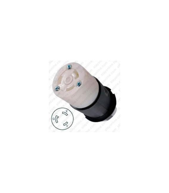 Hubbell HBL2623 NEMA L6-30 Female Connector