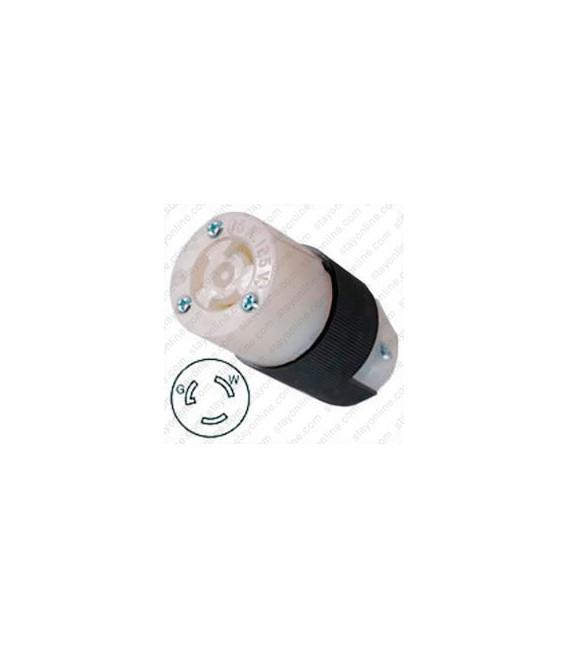 Hubbell HBL4729C NEMA L5-15 Female Connector