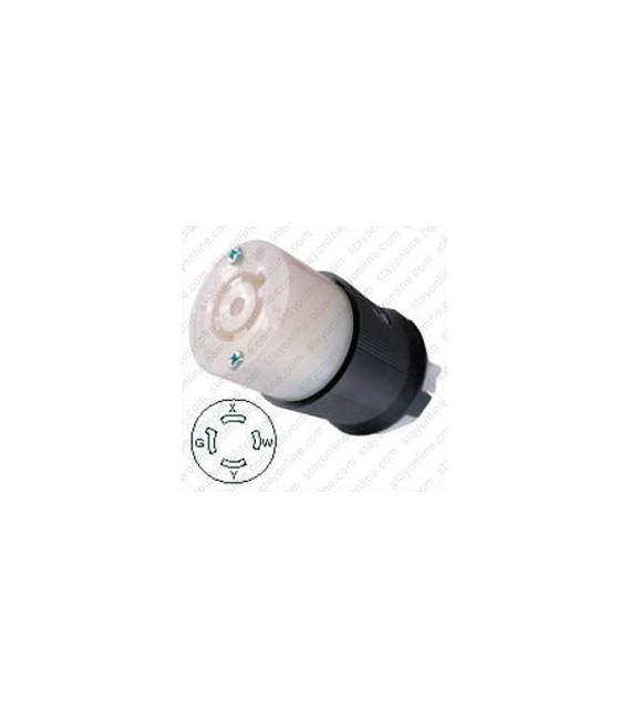Hubbell HBL2413 NEMA L14-20 Female Connector