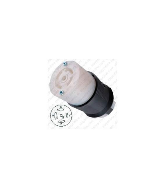 Hubbell HBL2813 NEMA L21-30 Female Connector