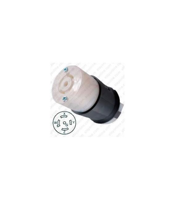 Hubbell HBL2513 NEMA L21-20 Female Connector