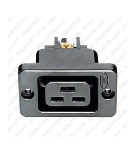 Hubbell H320R AC Outlet IEC60320 C19 Female