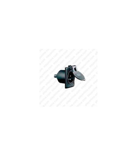 HUBBELL HBL61CM64BK AC Inlet NEMA 5-15 Male Black Marine