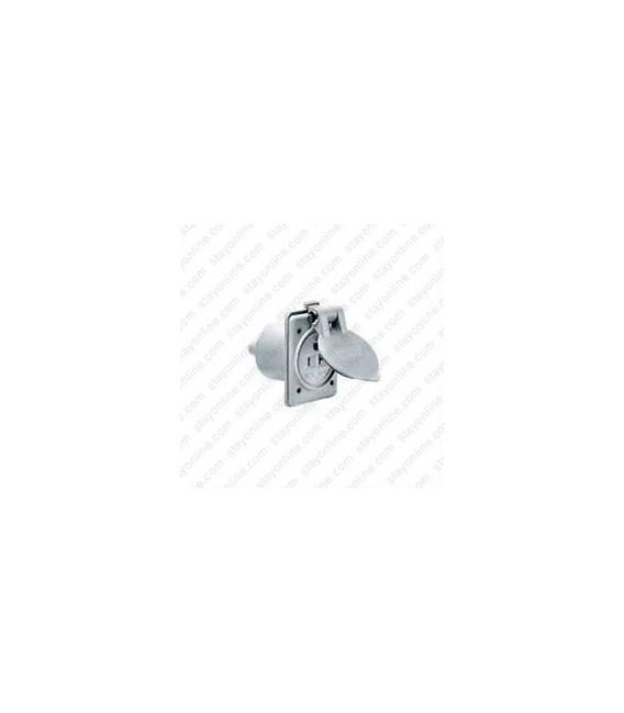 HUBBELL HBL61CM65 AC Outlet NEMA 5-15/20 Female Corrosion Resistant