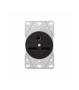 Arrow Hart 5700N AC Receptacle NEMA 6-30 Female Black 250 Volt 30 Amp