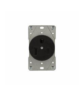 Arrow Hart 5709N AC Receptacle NEMA 6-50 Female Black 250 Volt 50 Amp