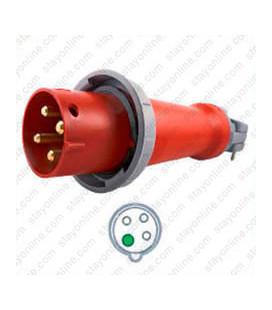 Hubbell HBL4100P7W AC Plug IEC60309 4100P7W Male IEC 309 Pin & Sleeve