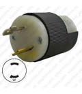 Hubbell HBL7545C NEMA L1-15 Male Plug