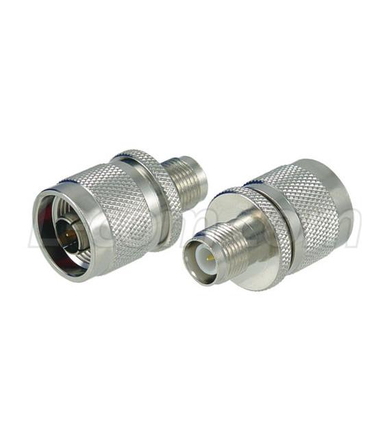 Adaptador RP-TNC jack (cuerpo hembra pin macho) a N macho