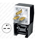 Hubbell HBL9331 NEMA 6-30 Angled Entry Male Plug
